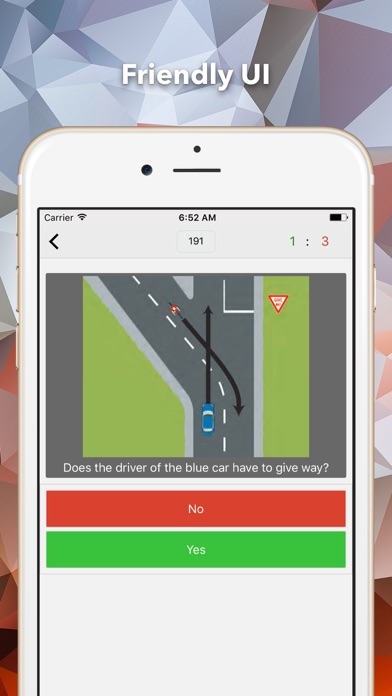 Screenshot #2 pour NZ Driving Theory Practice Test - License 2017