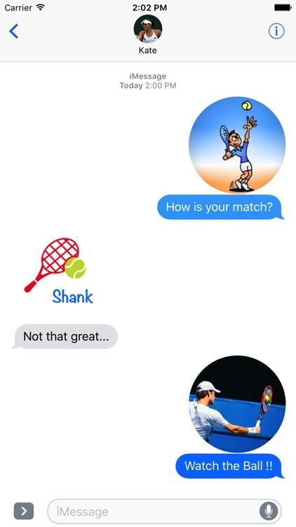 Fun Tennis Stickers screenshot-3