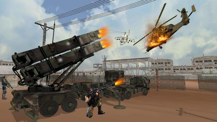 VR Anti Aircraft Patriot Gunner Strike Action Game screenshot-3