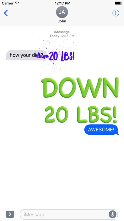 Weight Loss Cheering screenshot-3