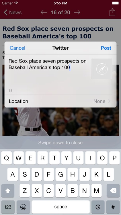 Boston Baseball - Sox edition