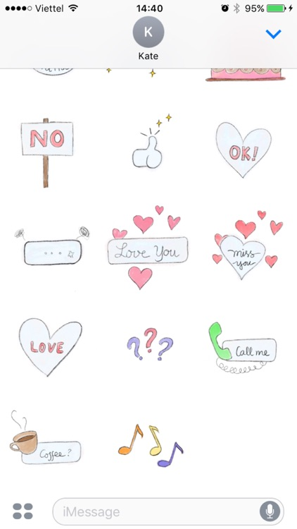 Hand Drawn Messages
