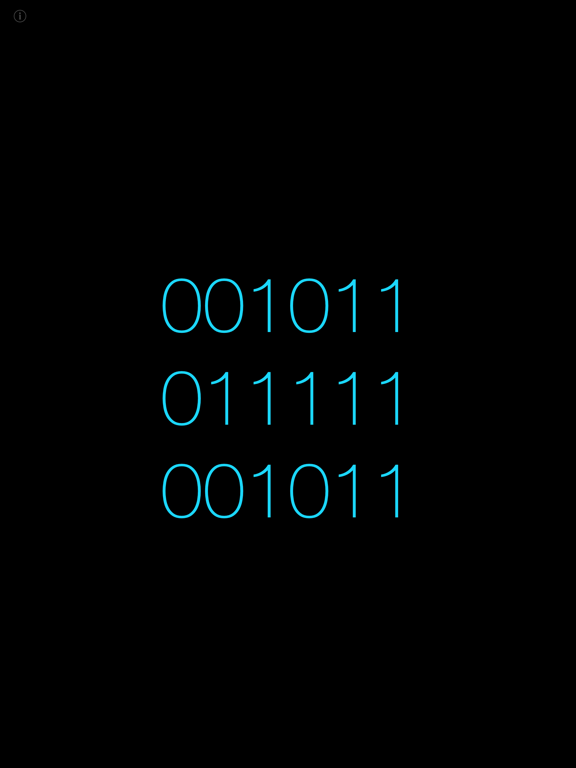 Big binary clock Screenshots