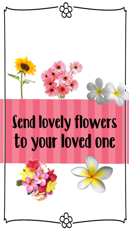 Lovely Flower Stickers