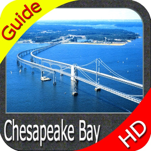 Chesapeake Bay HD - GPS Map Navigator