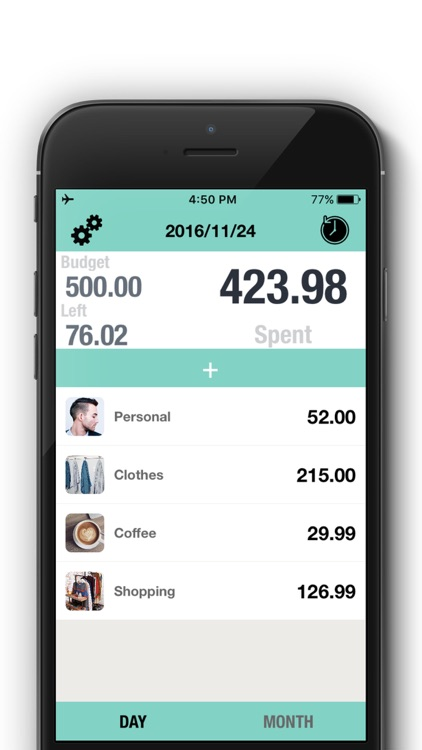 Spending Tracker - Daily Spending, Budget Tracker