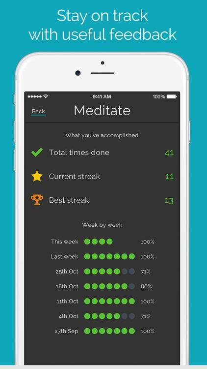 Productive - Habit Tracker & Goals Reminder screenshot-3