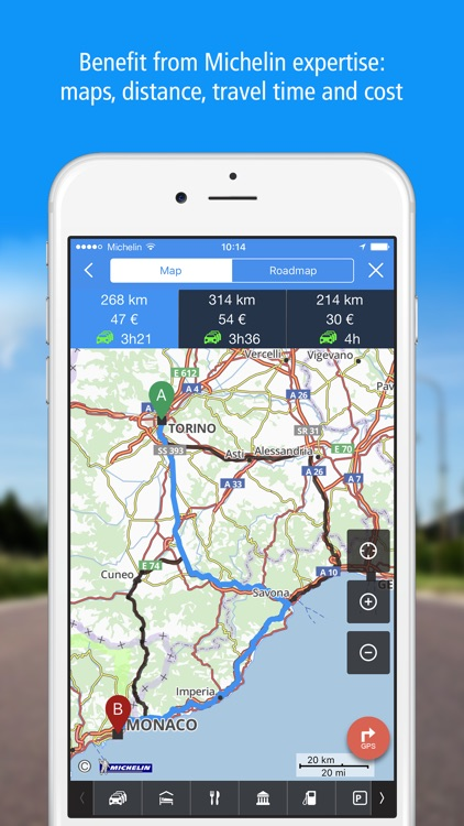 GPS Traffic Speedcam Route Planner by ViaMichelin