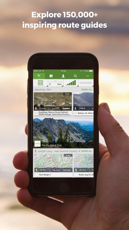 ViewRanger Cycling & Hiking Trails & Topo Maps