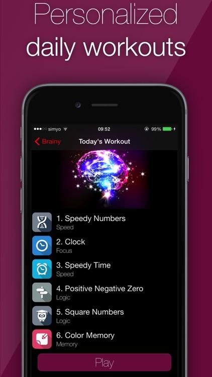 IQ - Brain Training screenshot-4