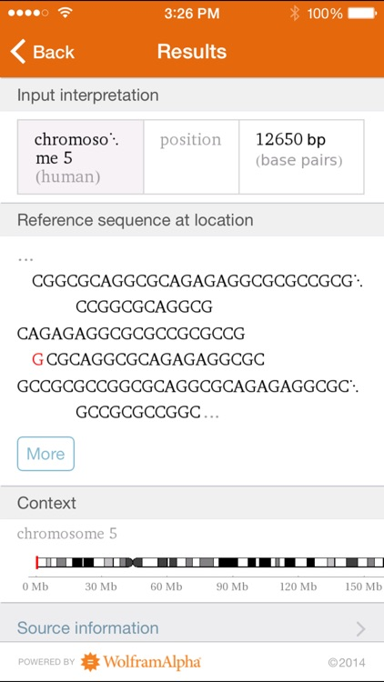 Wolfram Genomics Reference App screenshot-4