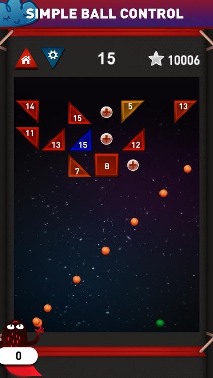 Brick Breaker Ballz - Smashy 100 Balls tricky shot screenshot-3