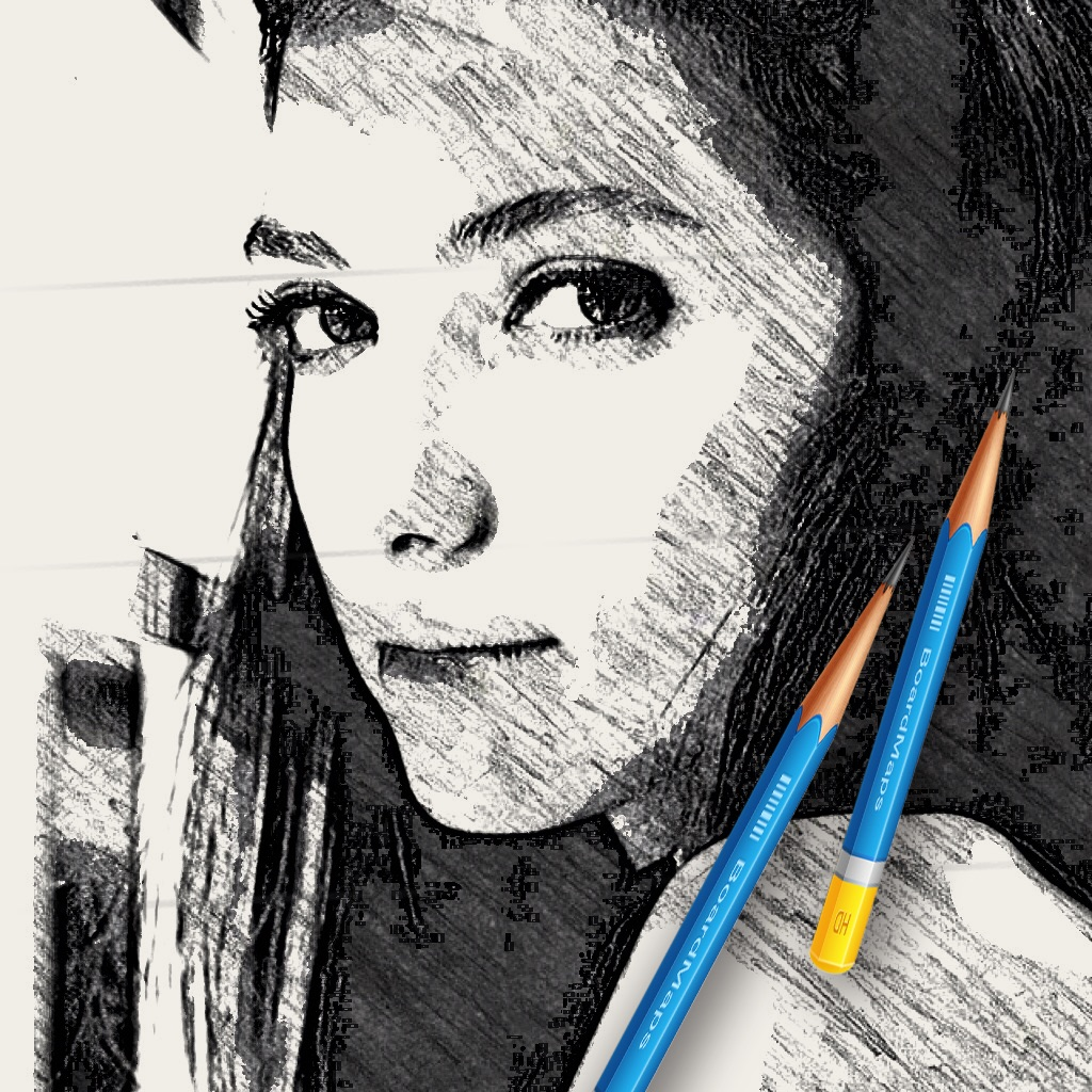 Pic sketch pencil draw effects maker popular apps