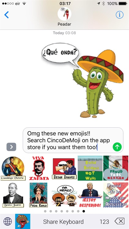 MexMoji Fiesta screenshot-1