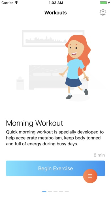 Muscl - daily workouts Screenshot