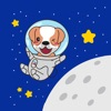 Astronaut Dog Stickers for iMessage - iPadアプリ