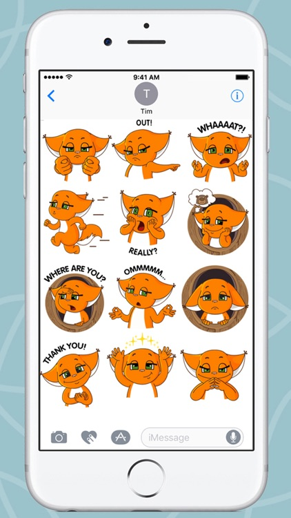 Squirrel Kroshka Shi New Stickers