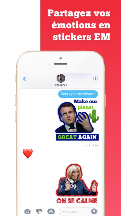 Macron Président 2017-2022 Stickers autocollants screenshot-1