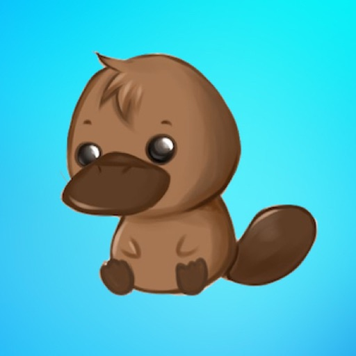 PlatypusCute - Platypus Emoji And Stickers Pack