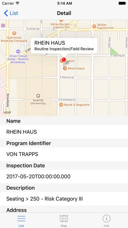 King County Food Inspections - Washington Standard screenshot-4