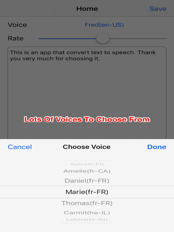 Text To Speech Sound Converter screenshot 5