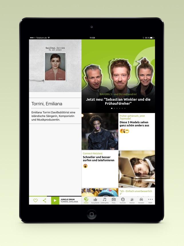 BAYERN 3 Screenshot