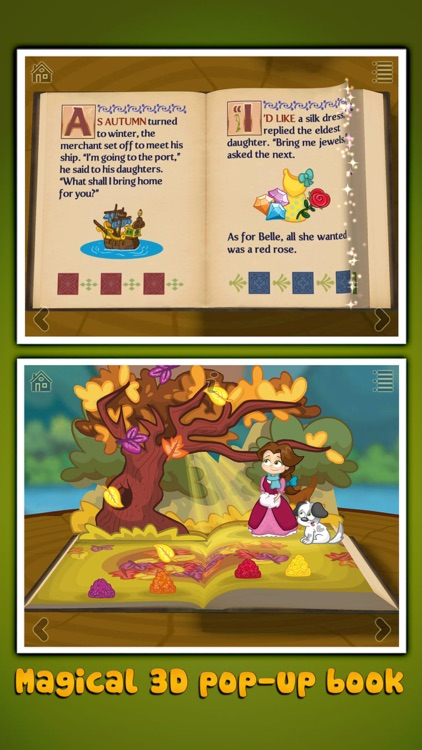 Beauty and the Beast ~ 3D Interactive Pop-up Book screenshot-0