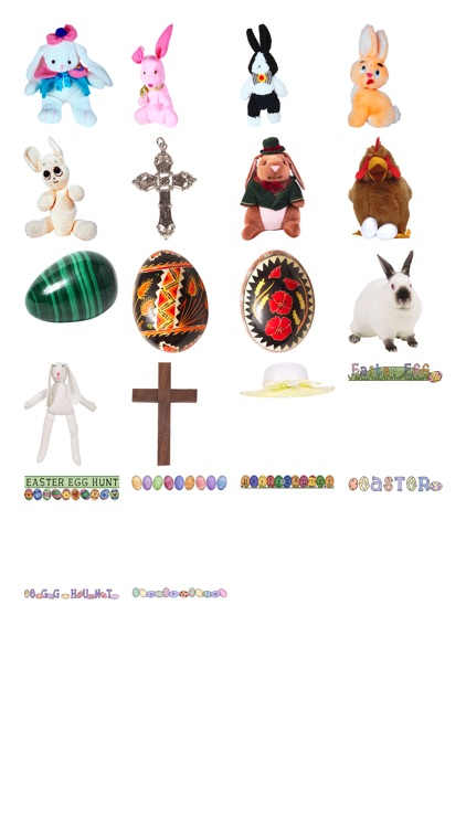 Easter Stickers #1 for iMessage screenshot-4
