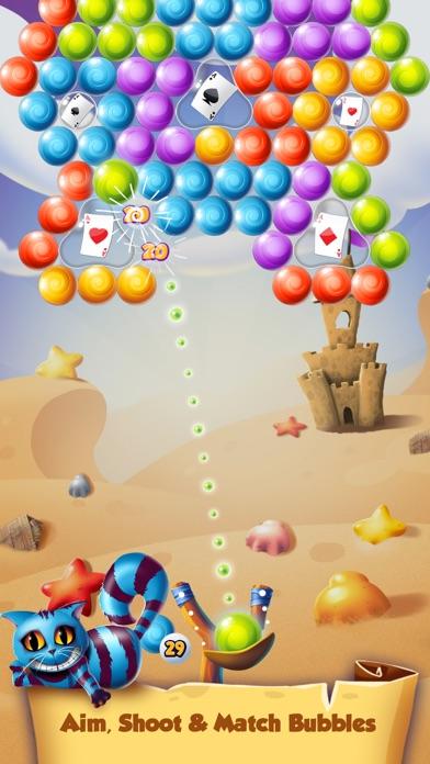 Alice Bubble POP in Wonderland screenshot two