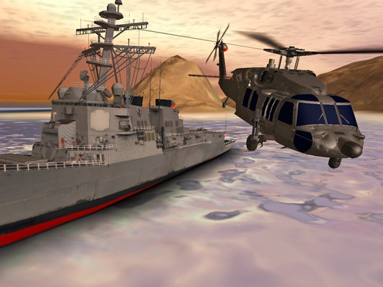 Helicopter Sim Hellfire Screenshot