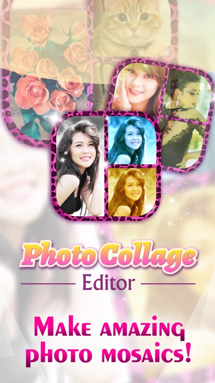 Photo Collage Editor Studio & Pic Grid Maker