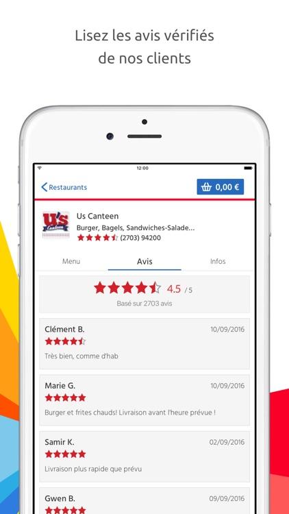 ALLO RESTO - Livraison restaurants screenshot-3
