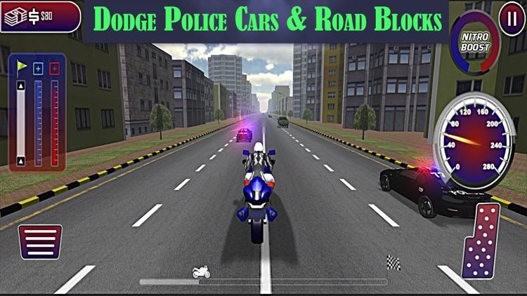 Motorbike Police Chase : Real Hot Pursuit Rider screenshot-3