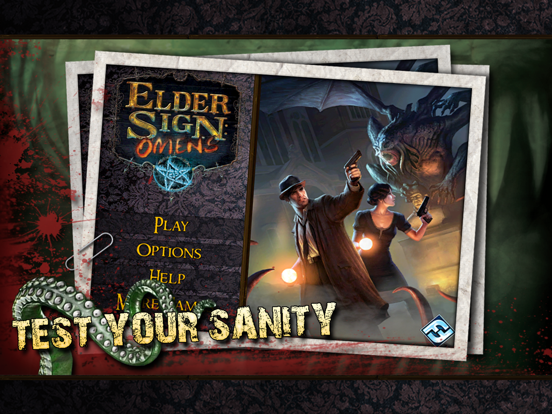 Elder Sign: Omens for iPad Screenshots