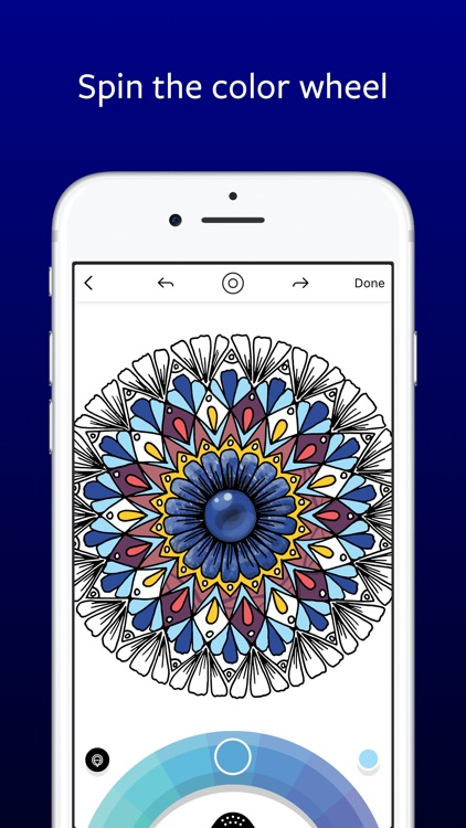 Lake: De-Stress Therapy with Art Coloring Pages app image