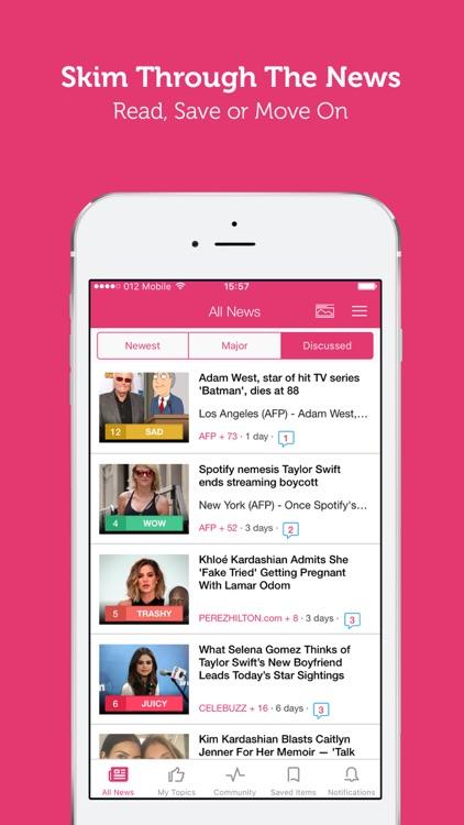 Celebrity News - Latest Celeb News & Gossip screenshot-3