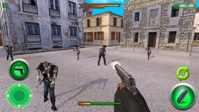 Crazy Zombie Sniper Shooting War screenshot three