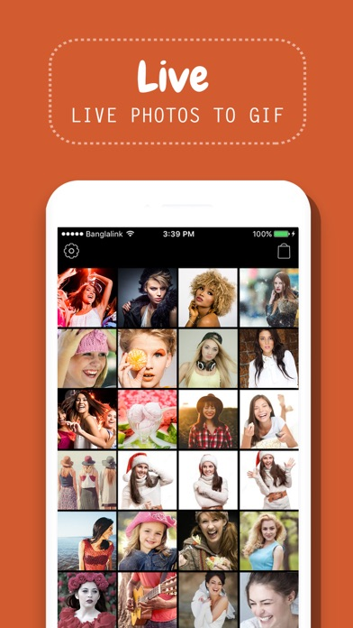 Screenshot #1 for GIF - Live Photos to Gif Maker & Video Maker