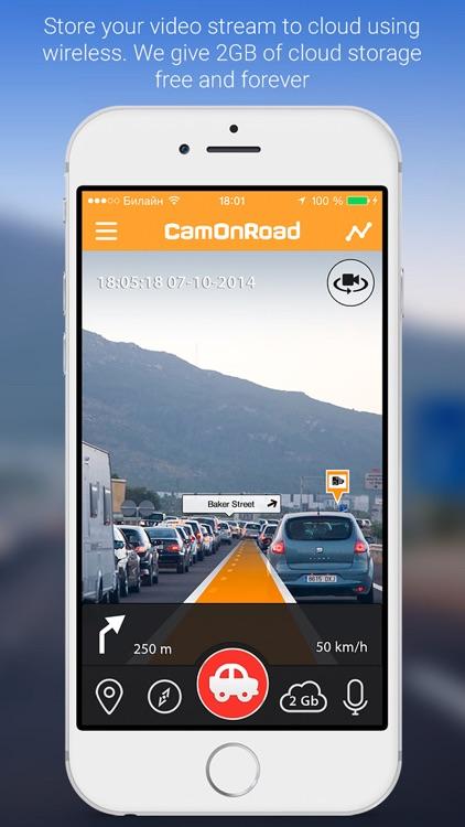 CamOnRoad - Car Video Recorder & Navigate