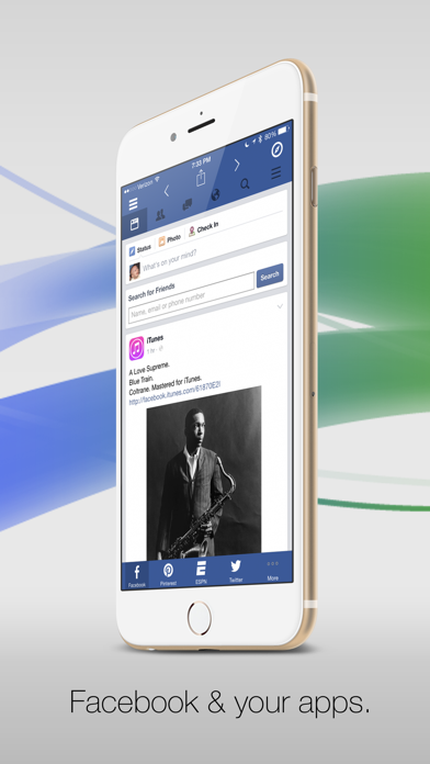 Facely HDFacebook + ソーシャルアプリのスクリーンショット1