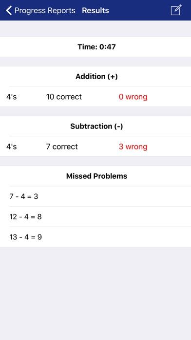 Math Fact Master review screenshots