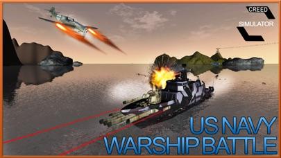 Navy Warship Gunner Fleet - WW2 War Ship Simulator