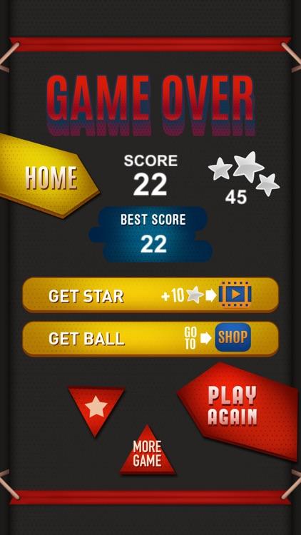 Ball-z Shooter: swipe brick breaker regler games screenshot-4