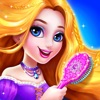 长发公主沙龙 - 少女化妆换装游戏