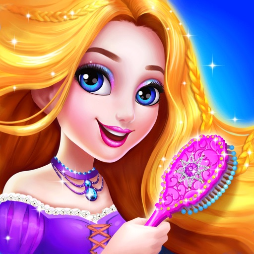 Long Hair Princess Salon Girls Fashion Makeup By Xi An Qi