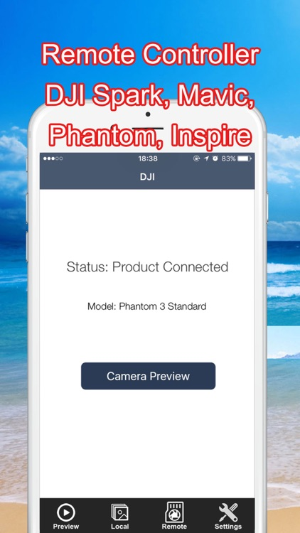 Controller for DJI Spark, Mavic, Phantom, Inspire