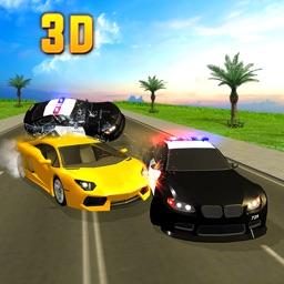 Police Petrol Crime Chase