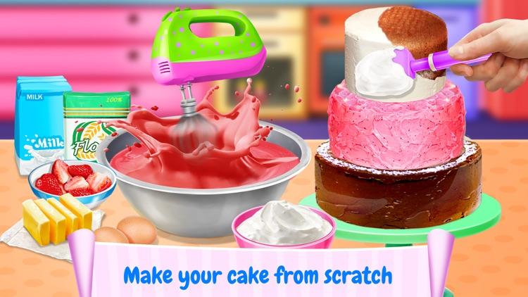 Cake Maker! Best Food Sweet Cooking Games screenshot-3