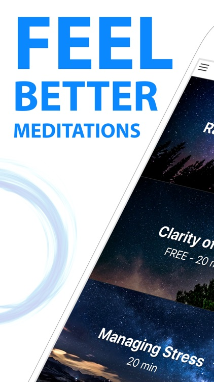 Guided Meditation and Relaxation - Daily Calm App