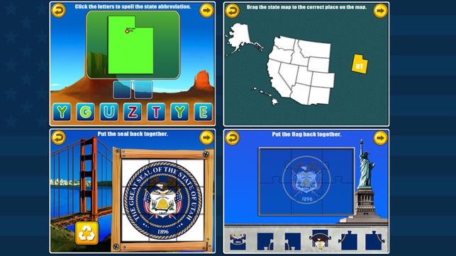 Amazing United States and Capitals Games for kids on the App Store